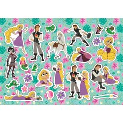 Diakakis imports Rapunzel Tangled Painting Blog 40 Sheets with Stickers - 2 Designs 000562347 5205698447693