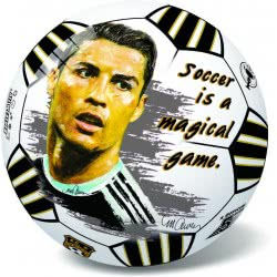 star Μπάλα Πλαστική 23εκ. Ρονάλτο (Cristiano Ronaldo) 46/3019R 5202522130196