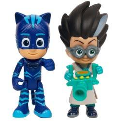 GIOCHI PREZIOSI PJ Masks - Πιτζαμοήρωες Light-Up Βασικές Φιγούρες Catboy και Romeo PJM19500 8056379047544