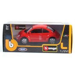 Bburago 1/24 Volkswagen New Beetle Κόκκινο 18/22029 4893993220298