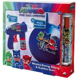 As company Λαμπάδα PJ Masks - Πιτζαμοήρωες Boing-Boing και Bubble Gun 1500-15685 5203068156855