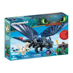 Playmobil Dragons Hiccup and Toothless with Baby Dragon 70037 4008789700377