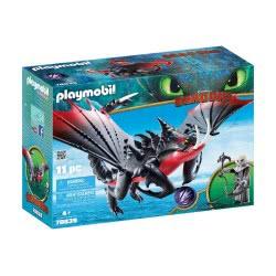 Playmobil Dragons Ο Θανατοδάγκανος και ο Γκρίμελ 70039 4008789700391