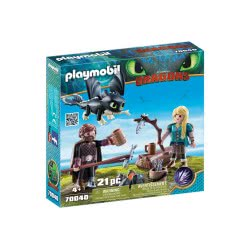Playmobil Dragons Hiccup and Astrid with Baby Dragon 70040 4008789700407