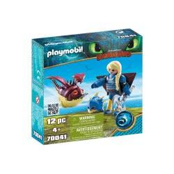 Playmobil Dragons Astrid with Hobgobbler 70041 4008789700414