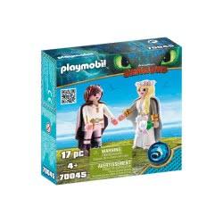 Playmobil Dragons Γαμήλιο Ζευγάρι, Αστριντ και Ψάρης 70045 4008789700452