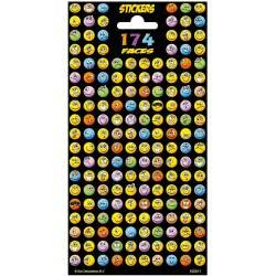 Gialamas Emoji Αυτοκόλλητα 174 Faces 1 τμχ SD100311 8717228727085