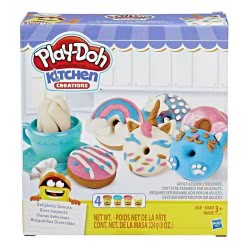 Hasbro Play-Doh Kitchen Creations Delightful Donuts with 4 Colours E3344 5010993555970