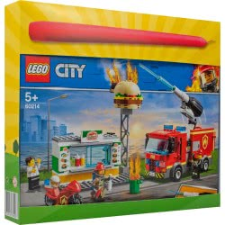 LEGO Easter Candle City Burger Bar Fire Rescue 60214