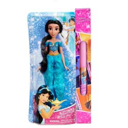 Hasbro Λαμπάδα Disney Princess Royal Shimmer Κούκλα Πριγκίπισσα - 4 Σχέδια E4022