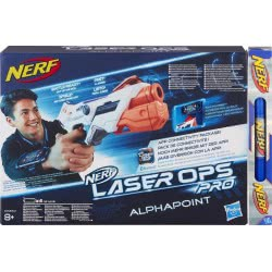 Hasbro Easter Candle NERF Laser Ops Pro Alphapoint E2280