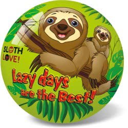star Plastic Ball 23 Cm Sloth Love 11/2967 5202522129671