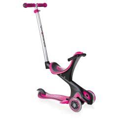 Globber Scooter Evo Comfort - Deep Pink 458-110 4897070182776