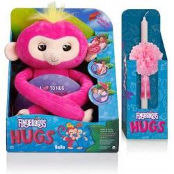 WowWee Λαμπάδα Fingerlings Monkey Hugs - Αγκαλίτσας 3532