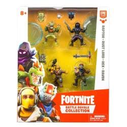 GIOCHI PREZIOSI Fortnite Battle Royale Collection 4 Φιγούρες 5 Εκ. FRT14000 8056379075851