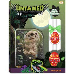 Λαμπάδα Wowwee Fingerlings Untamed Skeleton Bonehead Raptor Gloom 153864 / Gloom