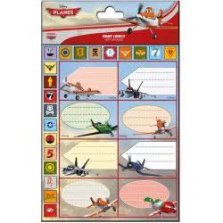 GIM Ετικέτες Τετραδίου Disney Planes 773-22049 5204549066410