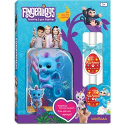 Easter Candle Wowwee Fingerlings Baby Dragon Tara - Blue 153862 / Tara