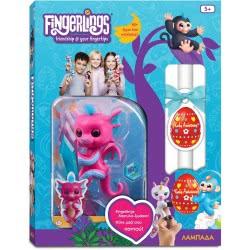 Λαμπάδα Wowwee Fingerlings Baby Dragon Sandy - Ροζ 153862 / Sandy