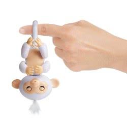 Λαμπάδα Wowwee Fingerlings Glitter Monkey Sugar - Ασπρο 3763 / 3760A