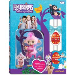 Easter Candle Wowwee Fingerlings Glitter Monkey Rose - Pink 3764 / 3760A