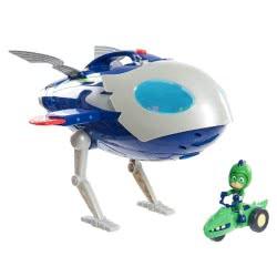 GIOCHI PREZIOSI PJ Masks Super Moon Adventure HQ Rocket Ιπτάμενο Αρχηγείο PJU02000 8056379059479