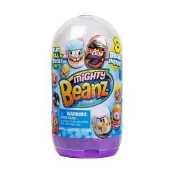 GIOCHI PREZIOSI Mighty Beanz Slam Pack 8 Figures NGH04000 8056379070054