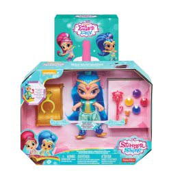 Fisher-Price Λαμπάδα Shimmer And Shine, Floating Genie, Shine Κούκλα FHN28 / FHN30