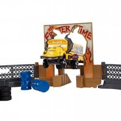 Mattel Λαμπάδα Cars 3 - Πίστα Σύγκρουσης Crazy 8 DXY95