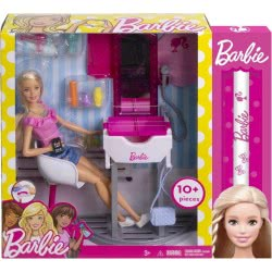 Mattel Λαμπάδα Barbie Δωμάτιο Με Κούκλα - 3 Σχέδια DVX51 / LA