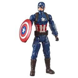 Hasbro Marvel Avengers: Endgame Titan Hero Series Captain America Φιγούρα E3309 / E3919 5010993548002
