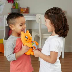 Hasbro Ugly Dolls Warm Wishes Wage Λούτρινο Πορτοκαλί E4518 / E4554 5010993576111
