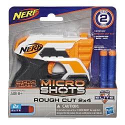 Hasbro Nerf Microshots N-Strike Elite Roughcut 2X4 E0489 / E1626 5010993484652