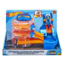 Mattel Hot Wheels City Περιστρεφόμενο Γκαράζ Σετ Παιχνιδιού FNB15 / GBF95 887961713947