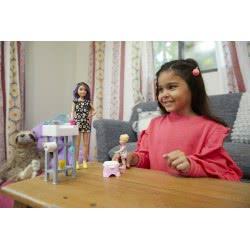 Mattel Barbie Σκίπερ Babysitter - Στο Μπάνιο Με Το Μωρό FJB01 887961531510