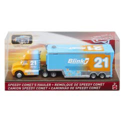Mattel Cars Νταλίκες - Speedy Comets Hauler Die Cast Όχημα FCL71 / GCY64 887961738230