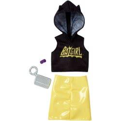Mattel Barbie Πρωινά Σύνολα - Διάσημες Μόδες - Batgirl FYW81 / FXK74 887961694031