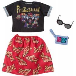 Mattel Barbie Complete Looks - Teen Titans Go! Pizza FYW81 / FXK71 887961694246