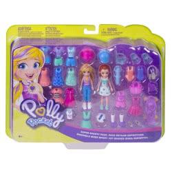 Mattel Polly Pocket Και Φίλη Με Ρούχα Και Αξεσουάρ GDM18 887961747355