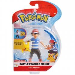 GIOCHI PREZIOSI Pokemon Battle Feature Figure Φιγούρα - 3 Σχέδια PKE11000 8056379074380