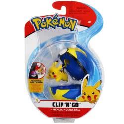 GIOCHI PREZIOSI Pokemon Clip N Go - 6 Σχέδια PKE10000 8056379074373