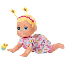 Zapf Creation Baby Born Funny Faces Crawling Interactive Doll 36 Cm ZF825884 4001167825884
