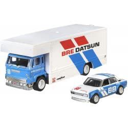 Mattel Hot Wheels Νταλίκα Με Αυτοκινητάκι 71 Datsun 510 Fleet Flyer Νουμ. 9 FLF56 / FYT12 887961708875