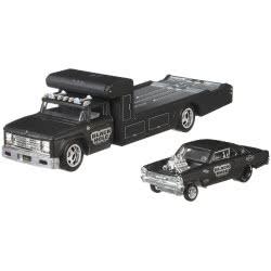 Mattel Hot Wheels Νταλίκα Με Αυτοκινητάκι 66 Super Nova Retro Rig Νούμερο 7 FLF56 / FYT09 887961708820