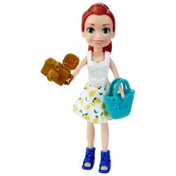 Mattel Polly Pocket Κούκλα Με Ρούχα Bon Voyage! Fashion Haul GDM01 / GFT91 887961769692