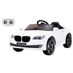 MG TOYS Τηλεκατευθυνόμενο Μπαταριοκίνητο Αυτοκίνητο R/C BMW Style Car 12V Λευκό 412215 5204275122152