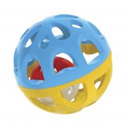 WinFun Μπαλίτσα Κουδουνίστρα Easy Grasp Rattle Ball 403191 5204275031911