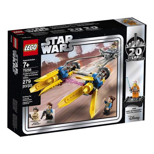 LEGO Star Wars Anakins Podracer – 20Th Anniversary Edition 75258 5702016370713