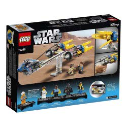 LEGO Star Wars Anakins Podracer – 20Th Anniversary Edition 75258 5702016370713