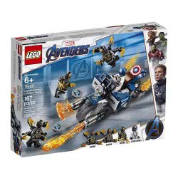 LEGO Marvel Super Heroes Captain America: Outriders Attack 76123 5702016369052